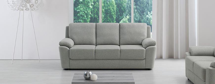 Three seat sofas